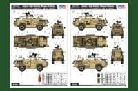 Hobby Boss 1/35 Jackal 1 High Mobility Weapon Platform # 84520